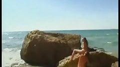 Jennifer Stone - beach sex