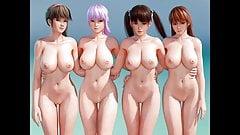DOA - naked girls mod