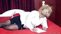 Naughty granny sexual pleasures