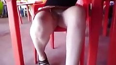 SDRUWS2 - CANDID UPSKIRT AT THE CAFETERIA