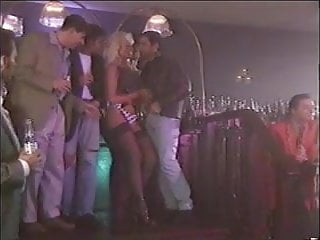 Gangbang big tits - Beautiful big tits blonde gangbanged dp milf helen duval