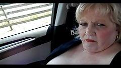 Nude, Masturbating, Orgasm After Orgasm On The Road