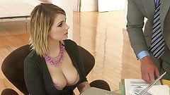 Secretary Fucks With Her Boss