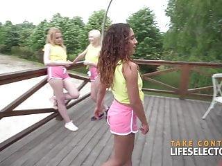 Nudist summer camp pics Sorority secrets - summer camp part 2 teen pov adventure