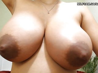What the fuck are you waiting for Sabansha black huge tits home alone waiting for you