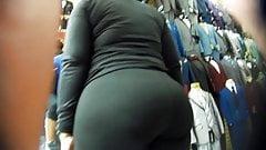 Candid mom booty spandex.. #29