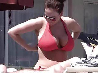 Big boobs bikinis - Unveils her big boobs