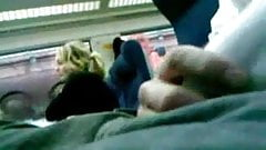 Bulge flash on train