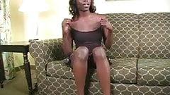 Ebony jerk off instructor
