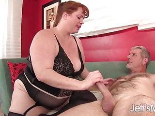 Sexy redhead pounded Sexy redhead bbw julie ann more takes a hardcore pounding
