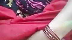 Desi indian bhabhi rub her pussy