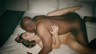 Eva Notty Interracial Lovemaking (Color Graded)