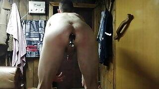 My hard anal fist big asshole