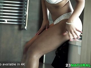 Super nice boobs Super nice looking natural girl plowed by white guy