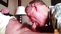 Slow Sucking and Eat Cum