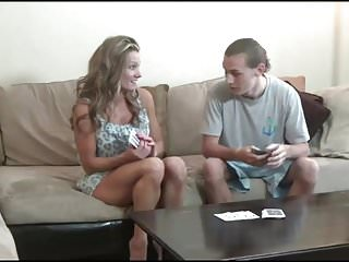 Ecw strip poker uncencerd - Mom and not her son play strip poker