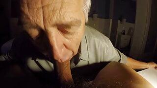 SilverDaddy Deep Throat session part 2
