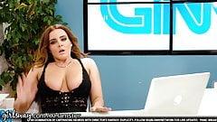 Girlsway Lesbian Teen Under Natasha Nices Desk Pussy Playing