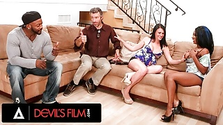DevilsFilm Rich Neighbors Swap Wives During Football Game