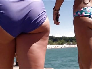 Michigan sex offerders Candid beach bikini butt ass west michigan booty jiggle