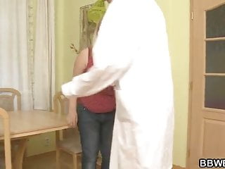 Doc porn Horny doc bangs her fat pussy from behind