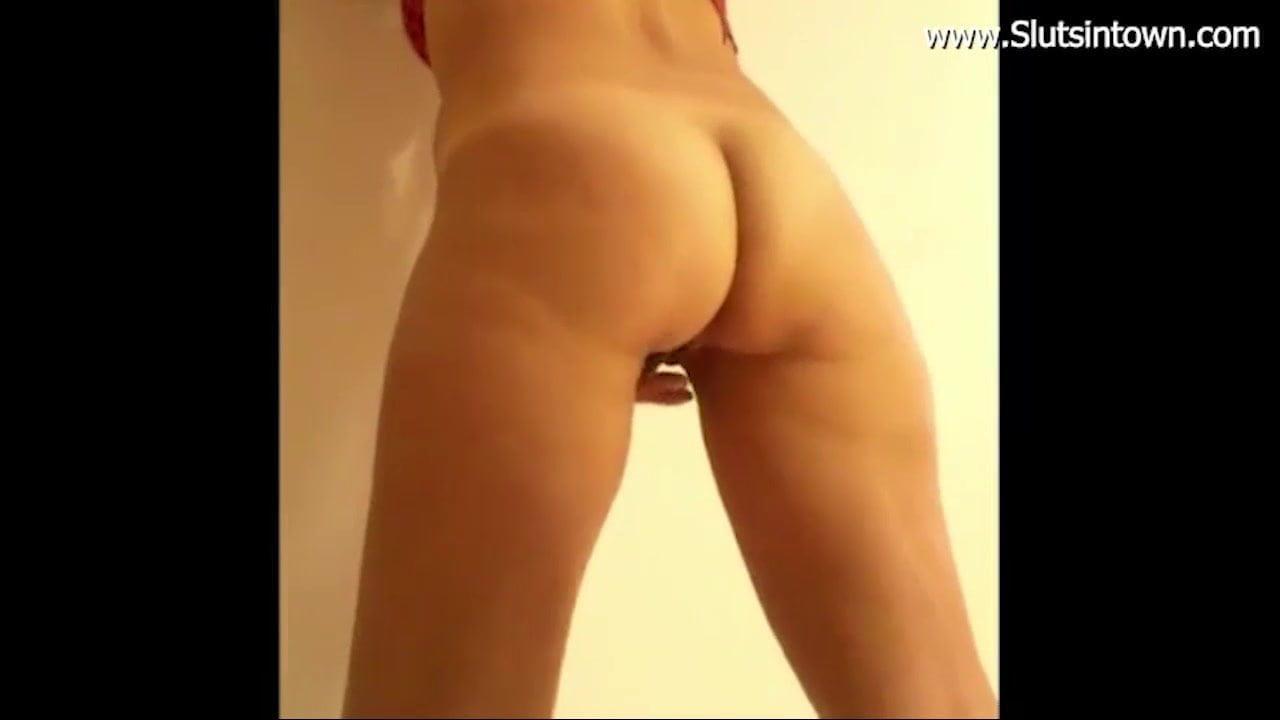 Slut Girlfriend Fucked IN Stand Position