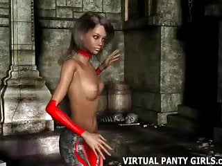 Watch bondage hentai Come into my virtual world and watch me strip