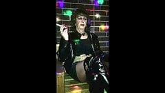 Thigh boot slut smoking in Napoleon's