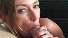 Cougar Chloe sucking cock