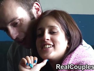 Real peoples having sex - Real couple zarina and jay chat before having sex on camera
