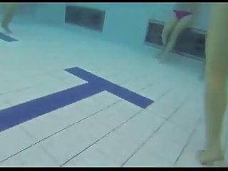 Teen gives boobjob - Teen gives handjob and blowjob in public pool