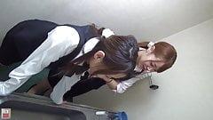 Japanese girls toilet farts