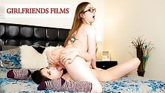 GirlfriendsFilms - Teen Reveals Secret Crush On Her Friend