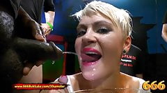 Extreme Piss Gangbang Lovers - Claudia Vs Amy Pink