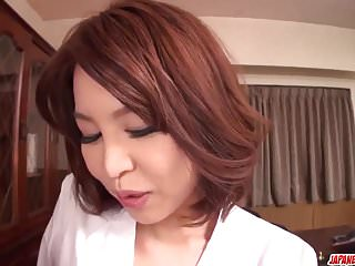 Camwithher erika femme sasha naked videos Busty erika nishino fantastic pov play with a young cock