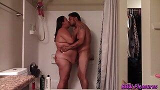 BBW Couple Shower