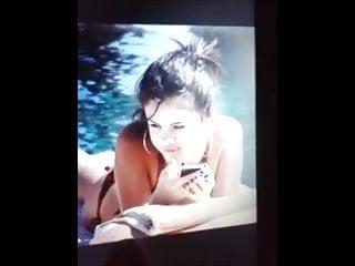 Girl in bikini cumshot Selena bikini cumshot 2