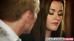 Digital Playground - Dumb blonde Bella Banxx gets talked