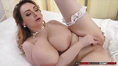 Here Cums the (Big Tit) Blushing Bride