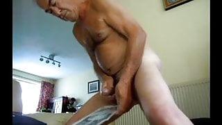 naked watching me cum