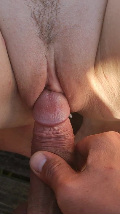 Dick play with pussy