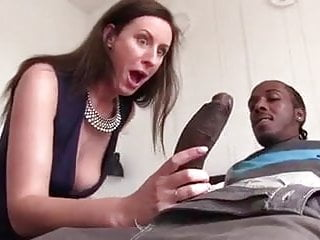 Women cock sucking British milf lara sucking big black cock
