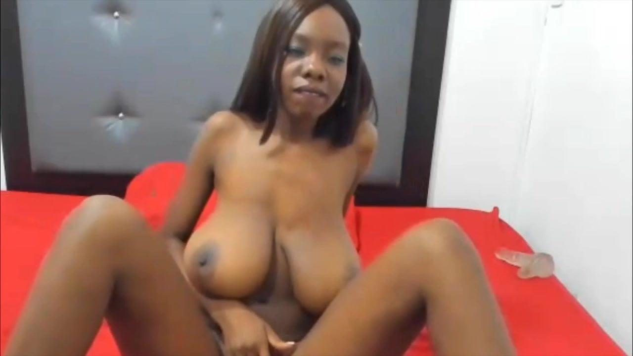 Large floppy black boobs hot porno