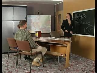 History of swinging bar doors - History teacher instructs her students on sex