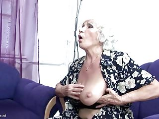 Young pissing porn Mom and granny fucked and pissed on by son