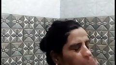Sexy Desi Bhabhi Bathing