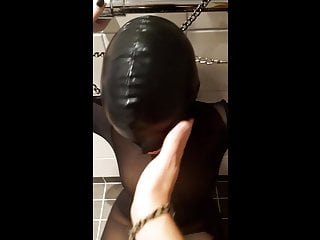 High heeled bondage videos Toilet whore getting facefucked and licking toilet