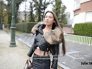 Bdsm high heel extreme video - Eternal hooker in extreme 20cm high heels spandex skirt