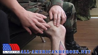 Navy Corpsman Logan Fucks Sergeant Miles