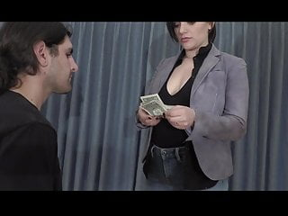 Femdom russian mistress slap - Princess slaps him silly